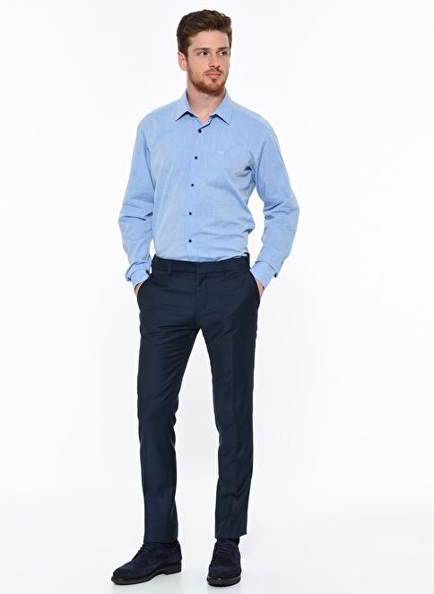Beymen Business Dar Kumaş Pantolon Petrol